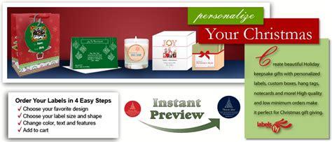 custom christmas labels christmas address labels holiday