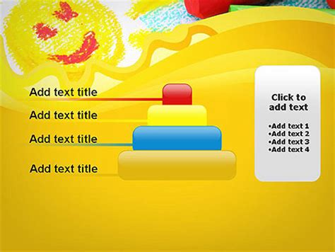 Early Childhood Art Powerpoint Template Backgrounds 11939 Poweredtemplate Com Free Early Childhood Powerpoint Templates