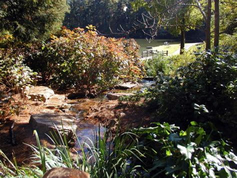 Aldridge Botanical Gardens Running To Lake Aldridge Garden Deb S Garden