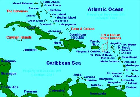 map of the caribbean islands november 2011 free printable maps