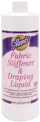 fabric stiffener and draping liquid purchase aleenes fabric stiffener draping liquid