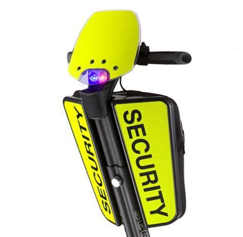 max  balancing elektrikli scooter polis kalkani
