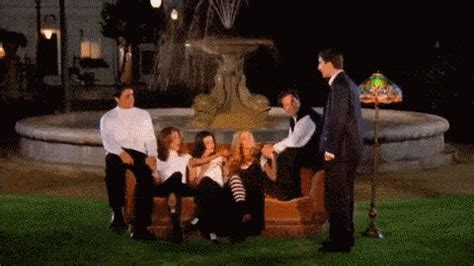park bench tv show this alternative ending of friends will break your heart