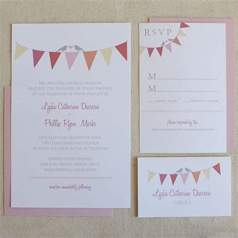 free printable wedding invitations bunting guest post on bridal musings my top 10 free wedding