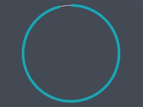 animated circle progress bar with jquery and svg