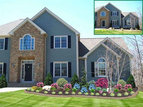 front of house garden designs fabulous small front yard landscaping ideas low maintenance of home landscape designs on