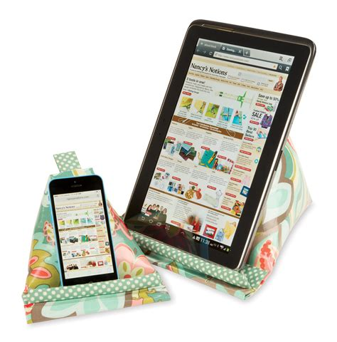 sewing pattern book holder learn how to sew an ipad pillow stand for ipad phones and