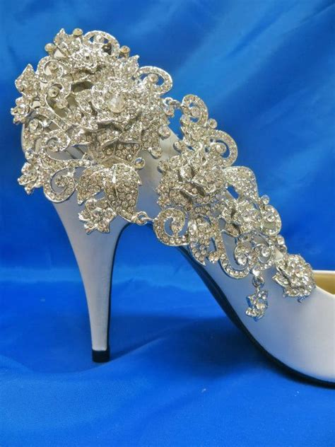 Fancy Wedding Shoes For by Rhinestone Shoes Wedding Shoes Bridal Shoes
