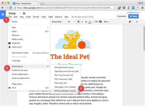 how to do it ebook how to make epub ebooks with docs
