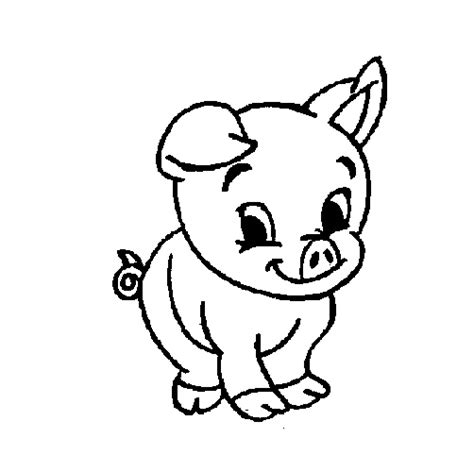 coloring page of a pig baby pig coloring pages pig coloring pages