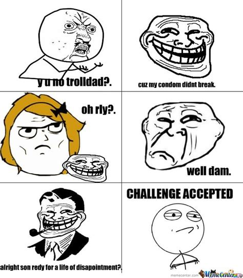 Troll Meme Images - new troll daddy by christian meme center