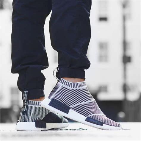 adidas nmd city sock black blue sock style shoes adidas nmd city sock high fashion sneaker soletopia
