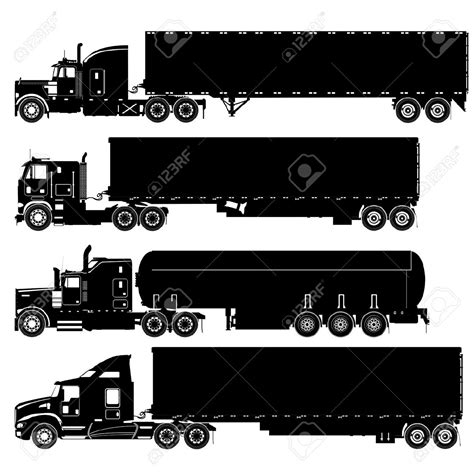 semi truck clip truck clipart truck pencil and in color truck