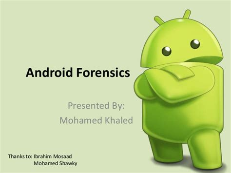 android forensics android forensics an custom recovery image