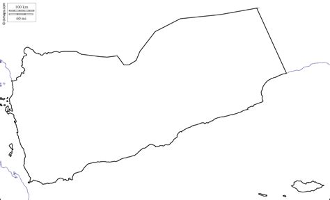 printable map of yemen geography blog yemen outline maps