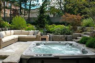 Backyard Patio Design Ideas Backyard Patio Ideas With Tub Landscaping Gardening Ideas
