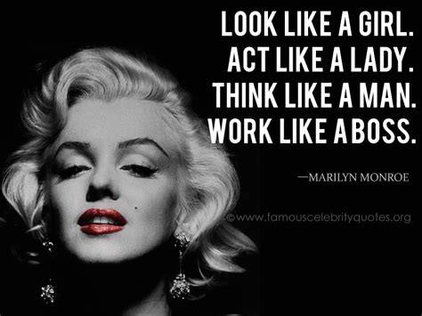 marilyn monroe zitate englisch marilyn monroe quotes look like a girl act like a lady