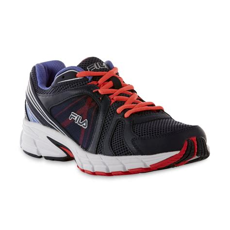 sears womens athletic shoes fila s gravion navy coral running shoe shop your
