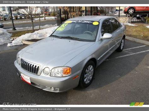 Kia Optima 2003 2003 Kia Optima Lx In Silver Photo No 42582682