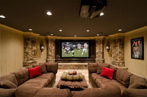 Basement Living Room by 20 Awesome Basement Living Spaces