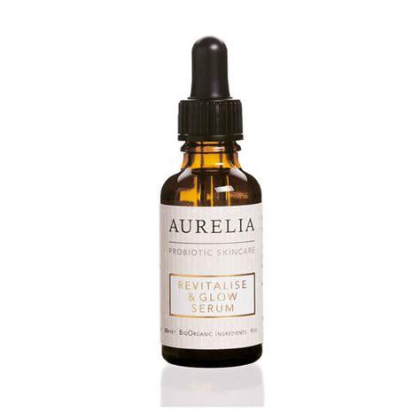 Serum Glowing aurelia probiotic skincare revitalise glow serum 30ml