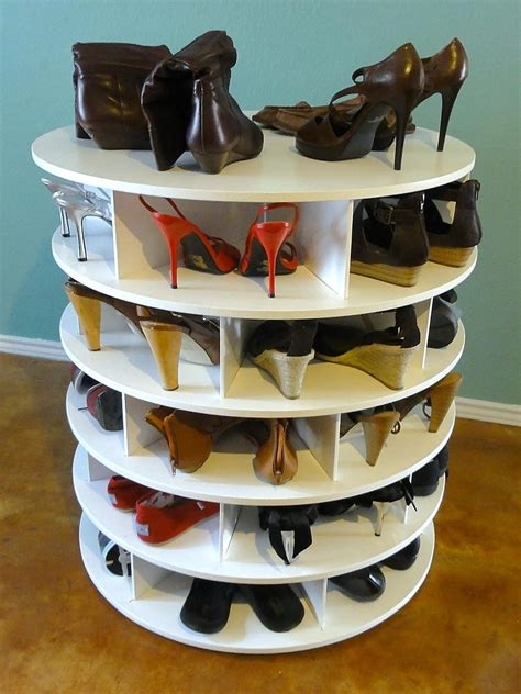 diy lazy susan shoe rack open gallery 46 photos