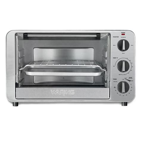 Toaster Oven 6 Slice Waring Pro Stainless Steel Convection Oven