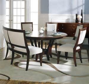 Curved Bench For Round Dining Table Furniture Grey Upholstered Curved Bench With Round Table
