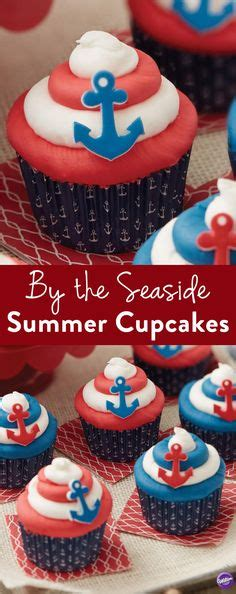 Get Rid Of The Summer Cake Look by 1000 Ideas About Anchor Cupcakes On Anchor
