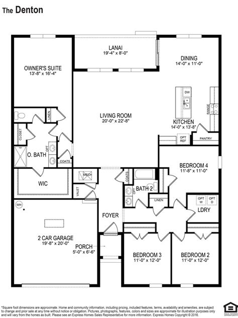 express homes floor plans denton trafalgar village express kissimmee florida