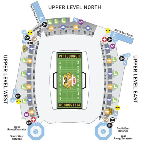 pittsburgh seating chart heinz field concert seating chart brokeasshome