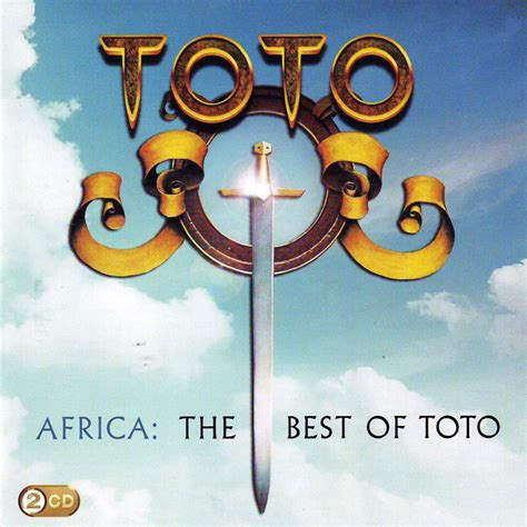 africa the best of toto car 225 tula frontal de toto africa the best of toto portada