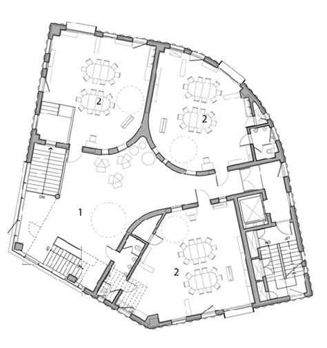 kindergarten school floor plan aec architecture of early childhood a wonderful kindergarten in south korea that s like a