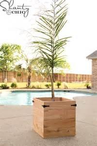 diy cedar planter box shanty 2 chic