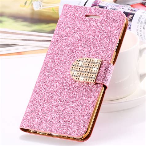 Best Casing Cover Flip Wallet Bling Glitter For Iphone 6 6s 4 7 Inch aliexpress buy for iphone 6 6s plus 7 plus cover