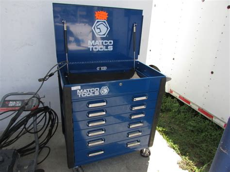 matco 6 drawer tool box matco tools 6 drawer tool cart tool box blue