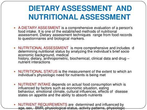 template of nutritional status lalita 6c dietary assessment