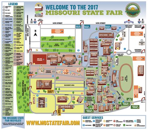 texas state fair map missouri department of resources