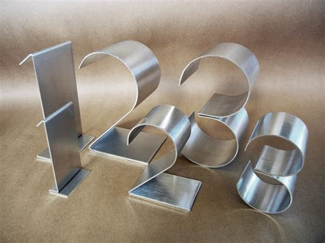 metal table numbers freestanding large empire 6 copper by