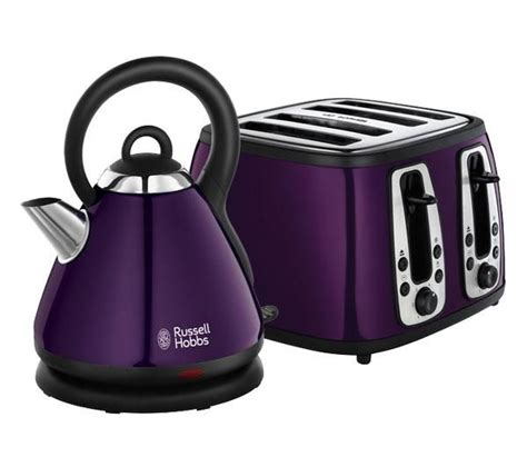hobbs purple toaster and kettle there s no