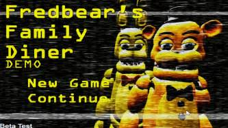 Fredbears family diner part 1 spring bonnie and fredbear youtube