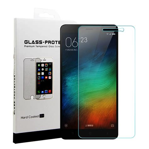 Clear Tempered Glass Xiaomi Redmi 3s Pro Hippo yipin screen protector tempered glass for for xiaomi