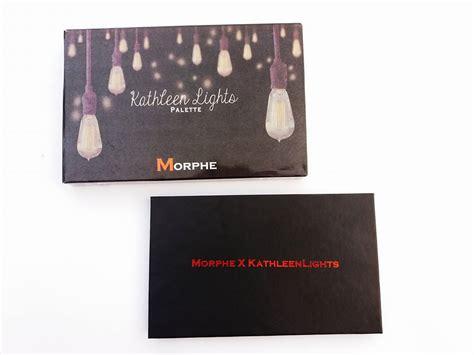 kathleen lights n word video morphe x kathleen lights palette review swatch brands