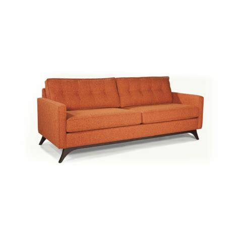 louie sofa with straps fabric only by younger furniture