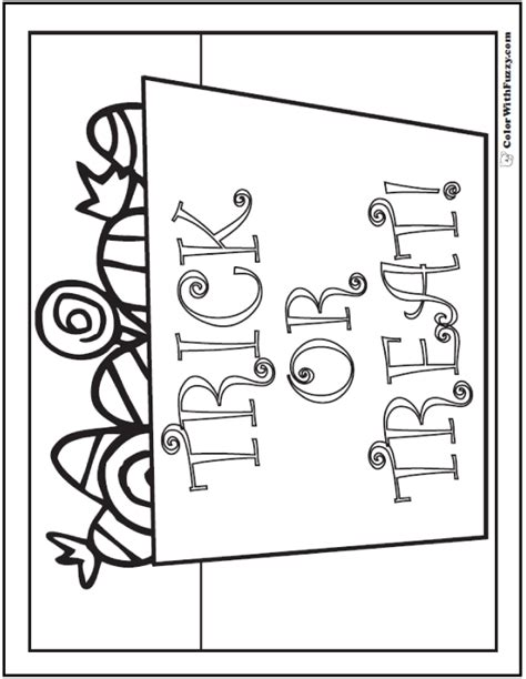 halloween coloring pages trick or treat 72 halloween printable coloring pages customizable pdf