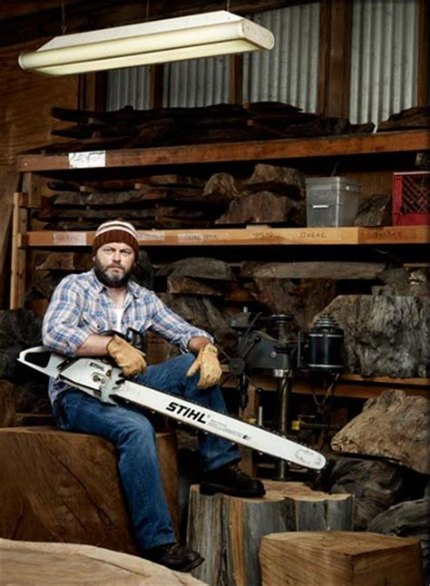nick offerman woodworking nick offerman woodshop a squaredstudio