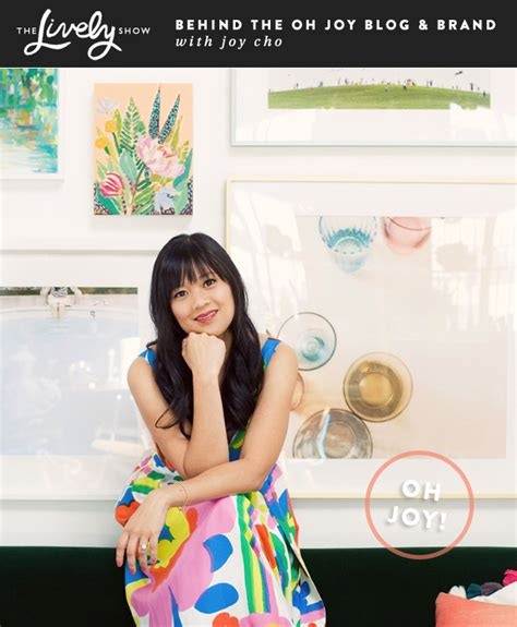 joy cho the lively show behind the oh joy blog brand with joy