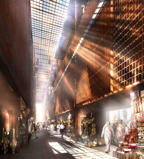 architecture of markets aldar central market abu dhabi the souk building e