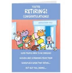 words for retirement cards shop retirement cards