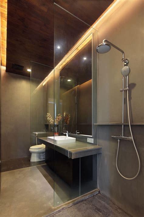 Bathroom Design Jakarta Bathroom Simple Modern Bathroom Shower Washstand Mirror